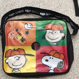 Handbags - Charlie Brown Giants Lap Top Case